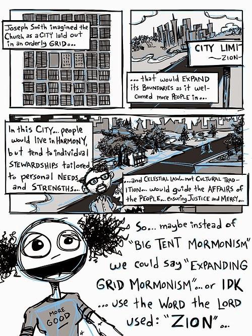 Expanding Grid Mormonism